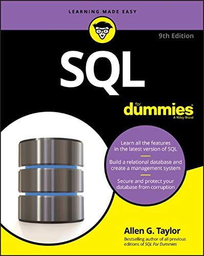SQL For Dummies (For Dummies (Computer/Tech)) [Taylor, Allen G.] (Tapa Blanda)