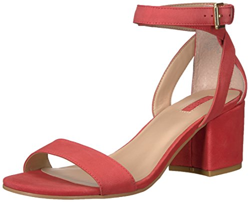 GUESS Women's Eva Heeled Sandal Pink