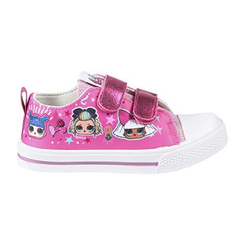 Cerdá Zapatillas LOL Surprise Niña de Color Rosa Oscuro, Niñas