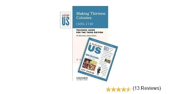 Amazon.com: Making Thirteen Colonies: Elementary Grades Teaching ...
