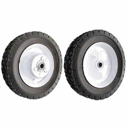 Rueda de acero con ruedas para cortacésped 42 dientes TORO/WHEEL HORSE-Diámetro: