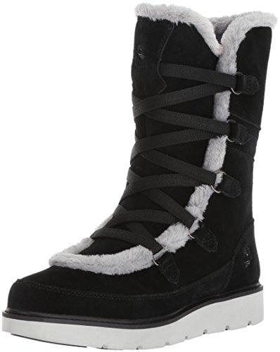 Timberland Women's Kenniston Muk Tall Winter Boot, Black, 7 C US