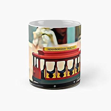 Amazon com | gocontigo - Full Color Neighborhood Trolley - Mr Rogers