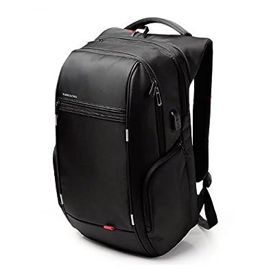 b977f8ad6c Amazon | 大容量 バックパック 40L 40リットル メンズ 防水 軽量 機内持ち込み 多機能 バッグ USBポート PC パソコン  タブレット iPad A4サイズ 通勤 通学 ビジネス ...