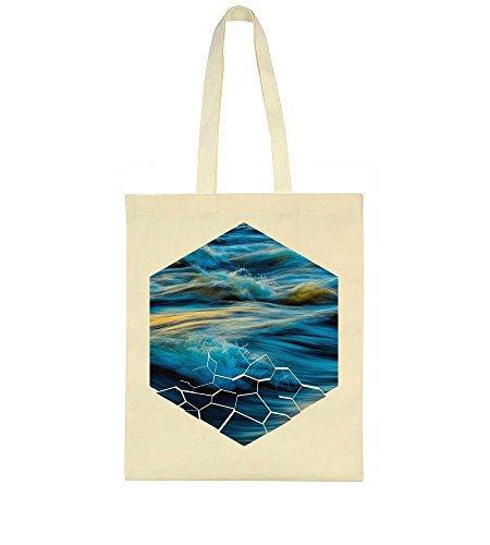 Sea Cracked Gorgeous Bag Tote In Gorgeous View Shape Sea A g7POOqT