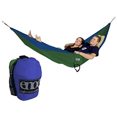 Eagles Nest Outfitters - DoubleNest Hammock, Royal/Emerald