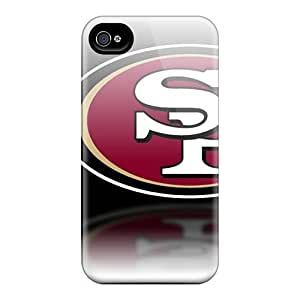 Special L.M.CASE Skin Case Cover for iphone 4/4s, Popular San Francisco 49ers Phone Case