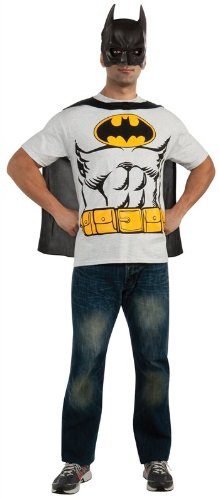 Batman T-Shirt Costume Kit