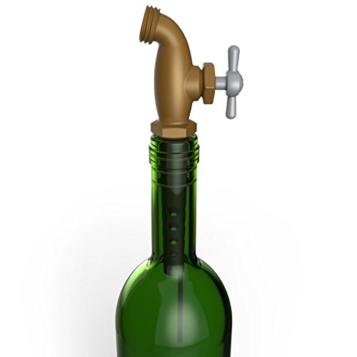 Bargain Fred & Friends TAPPED Faucet Wine Aerator And Stopper online