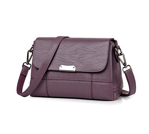inch 8 Ms bag 7 Crossbody PU backpack 2 Shoulder Purple 4 LXopr Light Bags 9 1 wTYO8