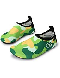 Boys Girls Swim Shoes Kid Water Shoes Outdoor Green...
