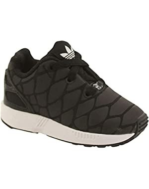 ZX Flux Xenopeltis CF I Toddler in Black/Black by Adidas