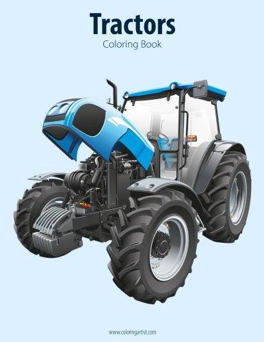 Tractors Coloring Book 1 (Volume 1) (John Deere Tractor Service Book)