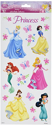 Sandylion Disney Stickers Packaged, Princess Dreams Glitter