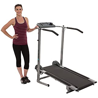 Exerpeutic 100XL Magnetic Manual Treadmill