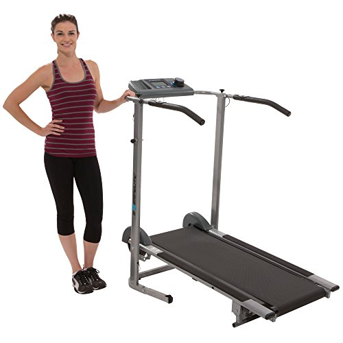 Pacer Treadmill (Exerpeutic 100XL High Capacity Magnetic Resistance Manual Treadmill with Heart Pulse)