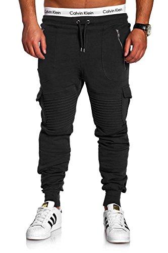 Mt Pantalon Biker Sport 2134 Homme Ma Cargo Styles Noir De FrnFBq
