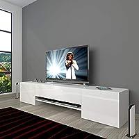 Decoraktiv 1e1 Mdf 150 Tv Ünitesi Parlak Beyaz