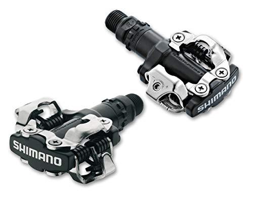 Shimano PD-M520 SPD Clipless MTB Bike Pedals - Black (Best Mtb Clipless Pedals)