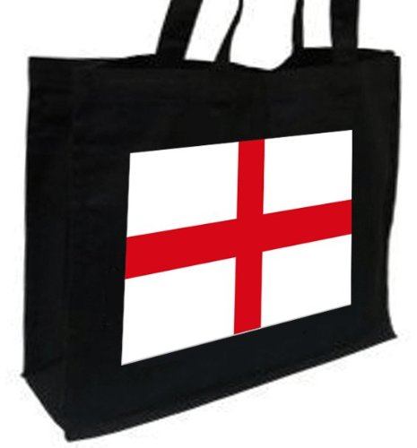 Cotton black English bag Flag Bag English shopping Flag xw0P7Iq6