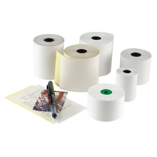 Registroll 2.25'' Thermal White 1 Ply Register Roll Tape by National Check
