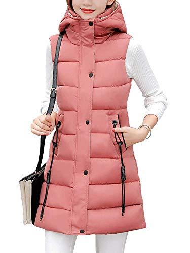 Sobrisah加厚连帽棉背心外套,靓丽时尚又保暖