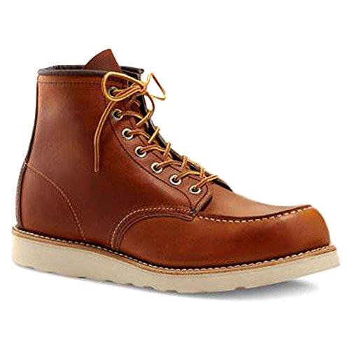 Red Wing Shoes - Zapatos de cordones de cuero para hombre Tostad (legado de Oro)