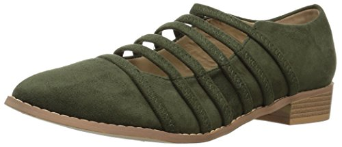 Loafer Women's Odessa Olive Flat Co Brinley qF5axOt5