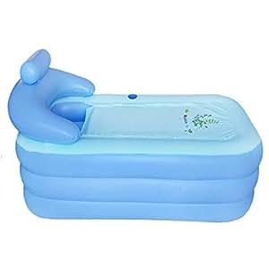 Amazon Com New Folding Portable Adult Spa Pvc Bathtub