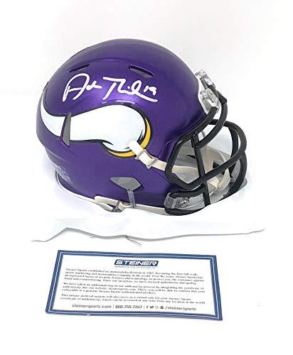 Adam Thielen Minnesota Vikings Signed Autograph Speed Mini Helmet Steiner Sports Certified from Mister Mancave