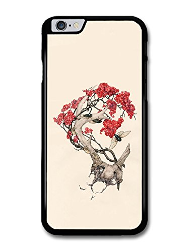Insects and Tree Cool Illustration Design case for iPhone 6 Plus 6S Plus