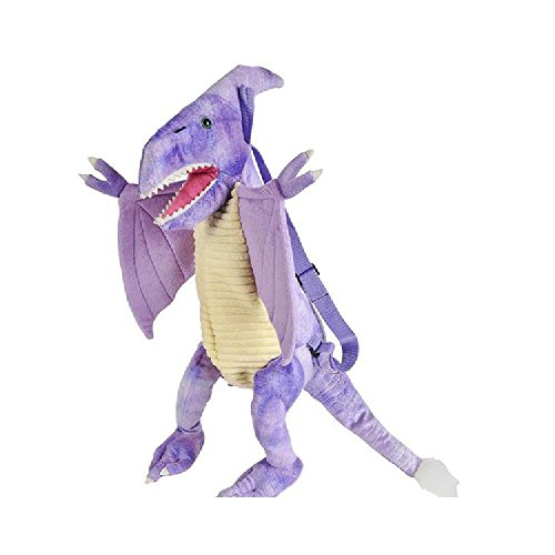 20'' Dino Bp Pteranodon, Purple by Bargain World