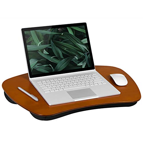 LapGear XL Executive Wood Lap Desk - Mahogany (Fits up to 17.3