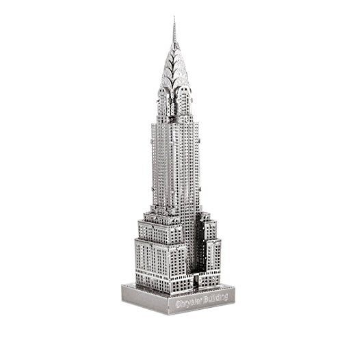 - Metal Earth Fascinations ICX014 502881, Chrysler Building Construction Toy 1 Metal Board 14 Years