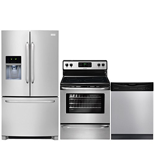 Frigidaire 3-Piece Stainless Steel Kitchen Package with FFHB