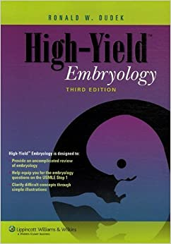 Book High-Yield(TM) Embryology (High-Yield Series) by Dr. Ronald W. Dudek PhD (2006-07-20)