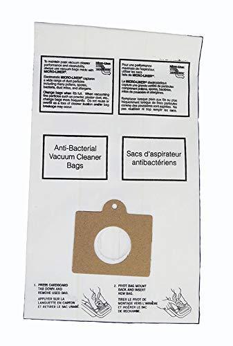 Kenmore Canister Vacuum Bag for C, Q; Panasonic C-5 & C-18, 8 pk by Kenmore