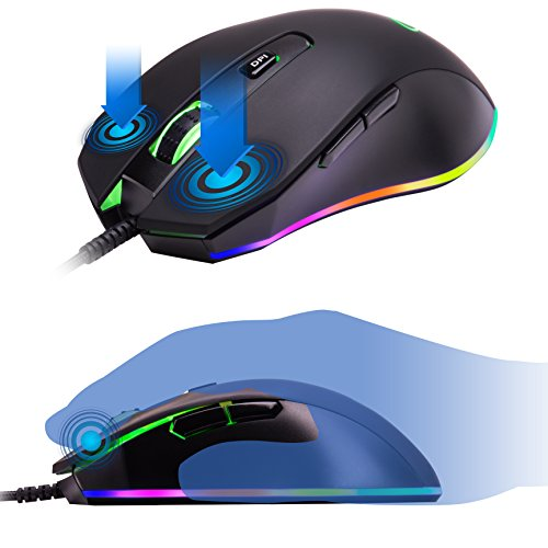 ROSEWILL-RGB-Gaming-Mouse-LED-Lighting-Wired-USB-Gaming-Mice-for-Computer-PC