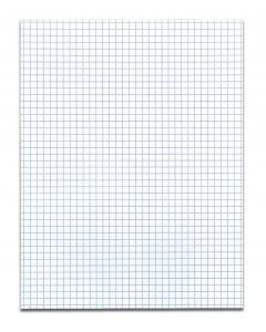 Bulk 4''x4'' Gum Pad White, 50 Sheets: Roaring Spring 95160 (72 Graph Gum Pads) by Roaring Spring
