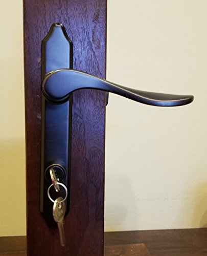 Storm Door Hardware Surface Mount- 3/4 inch Thick Door-90239-151 Oil Rubbed Bronze by International Resources (Image #1)