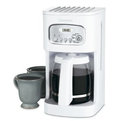 Cuisinart 12-Cup Programmable Coffeemaker, Fully Automatic with 24-Hour Programmability, Pause and Brew Feature with 60-Second Reset