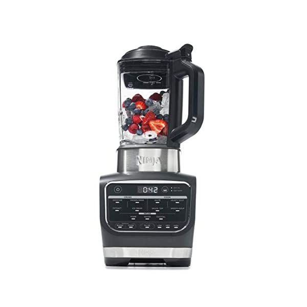 Ninja Foodi Cold & Hot Cook Hot Soups, Sauces and Dips Blender with 1400 Peak...