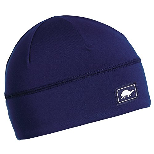 Turtle Fur Comfort Shell UV Brain Shroud, Lightweight Performance Beanie, Navy