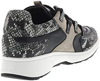 XSENSIBLE Dames Sneakers 30207.3.017 Lille Black Python Zwart - größe 40