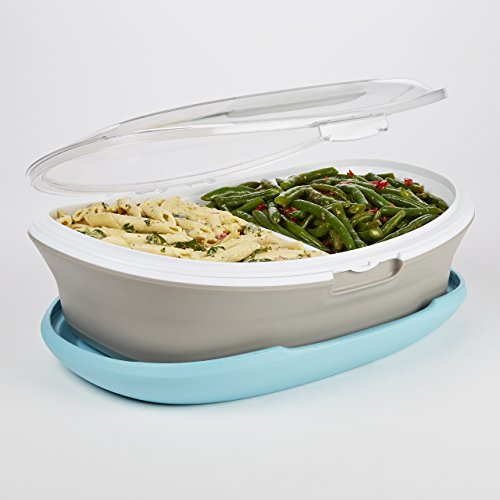 insulated serving platter - 3