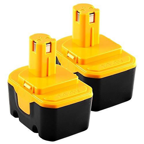 14.4V 1.5AH Battery for RYOBI 14.4 VOLT Cordless Drill - ...
