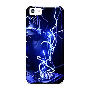 Hot Tpye Blue Dj Case Cover For Iphone 5c