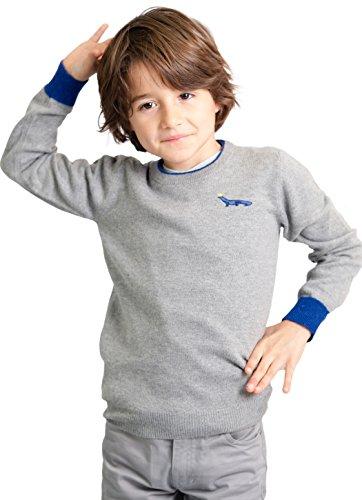 Wool Blend Crewneck Sweater - 3