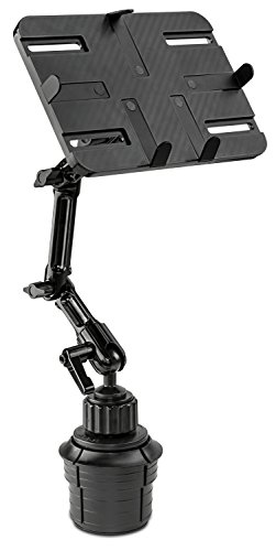 Mount-It! Cup Holder Tablet Mount, Universal Adjustable Car Mount for iPad, Mini iPad, Samsung Galaxy Including 7 to 11 Android Tablets up to 3.3 lbs (MI-7320)