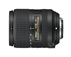 Aperture range from f/3.5 to f/22 Angle of view from 76 Degree to 5 Degree20' Maximum magnification of 0.32x and a minimum focusing distance of 1.6' Lens construction of 16 elements in 12 groups Works on FX-format cameras in DX crop mode. Not...